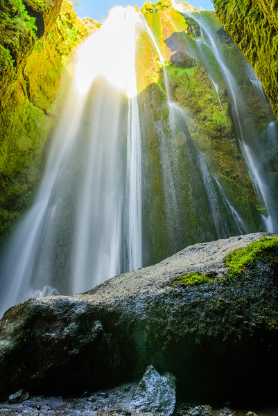Waterfall Gljúfrafoss