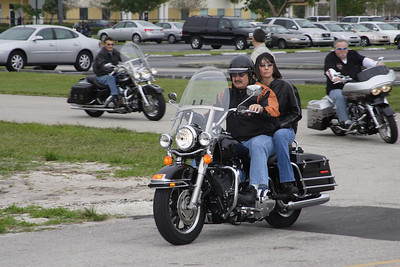 Bikers Bash Visit to the Boys and Girls Admiral's Marine Academy
