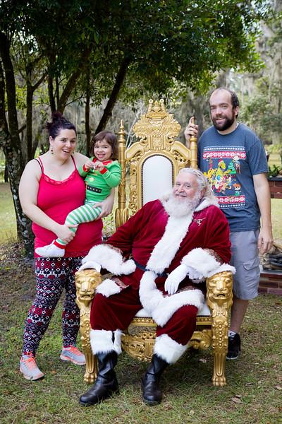 Santa Minis 2018: Olivia and Family!