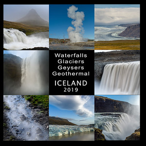 Waterfall Geysers Glaciers GeoThermal - THE BOOK