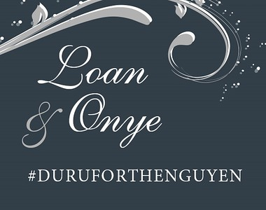 Loan & Onye's Wedding!