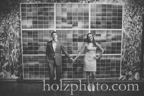 Rob & Ann B/W Photos