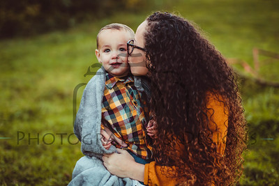 Shantell and Andrew | Mommy & Me Fall Session