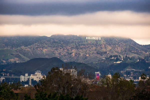 February 6 - Hollywood sign about to rained on.jpg