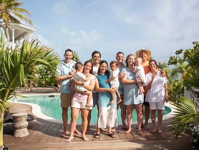 Carli and Family. Exuma, Bahamas. Vacation Photo Shoot.
