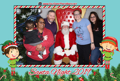 American Water Santa Night 2019