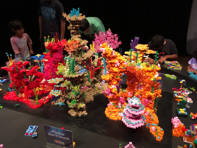 LEGO coral reef