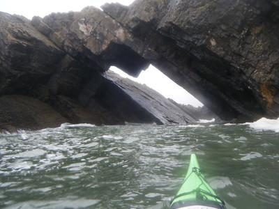 Kayaking the Gower Peninsula
