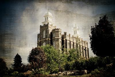 Logan Utah LDS Temple Prints