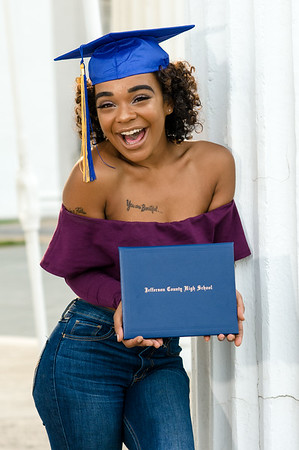 Jadea Graduation Photos 2019