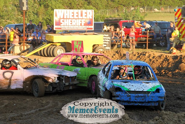 Figure 8 Race, Cole County Fair, July 30, 2016