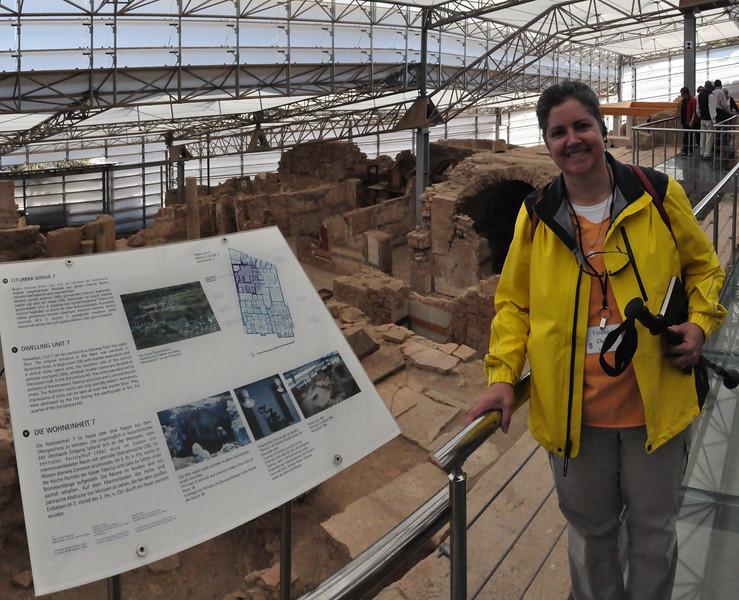 2010-10-31  458  Ephesus - Veronica at the Private Roman Apartments