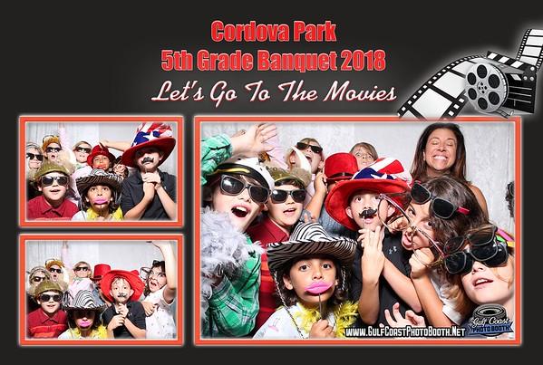 Cordova Park 5th Grade Banquet 2018