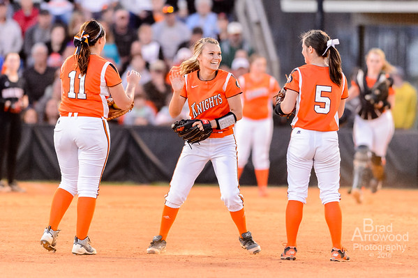 NDHS Softball vs Davie 2016
