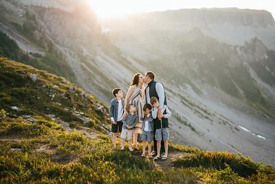 Dunn Family   Mt Baker '19