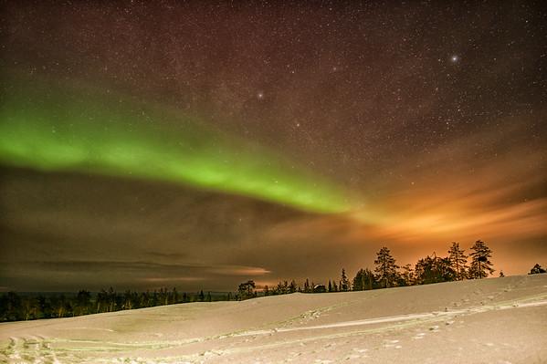 Aurora Ignites in Kätkävaara, Finland