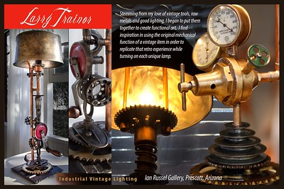 Vintage Industrial Lamps by Larry