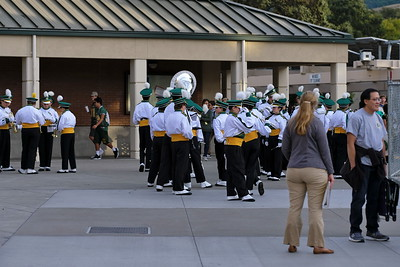 SRVHS Marching Band Sept 14 2018