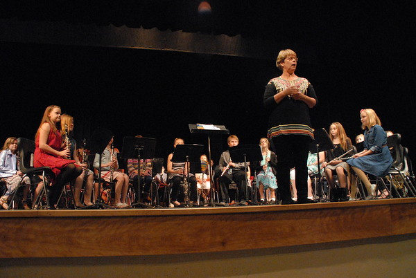 Vinton-Shellsburg Sixth and Seventh grade concert