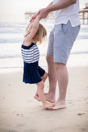 JW  San Diego Beach Vacation Family Portraits 92037 - 92109