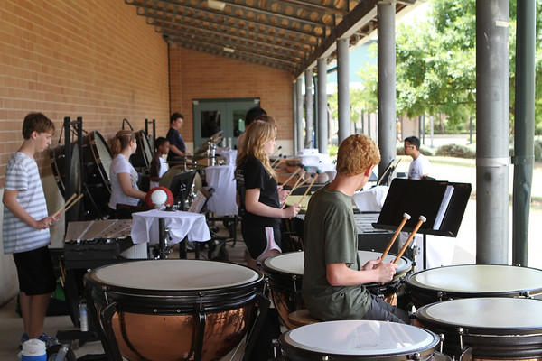 Cedar Park Band Percussion Camp