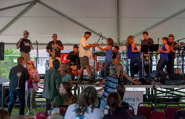 Loose Change at the Beer Garden Festival Friday night