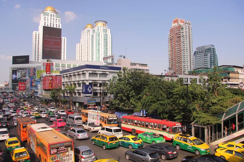 Ratchadamri Rd, Siam area - Bangkok
