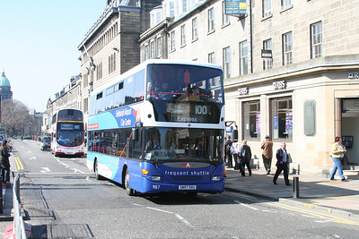 Lothian Airlink Scania