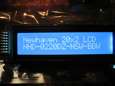 Newhaven LCDs