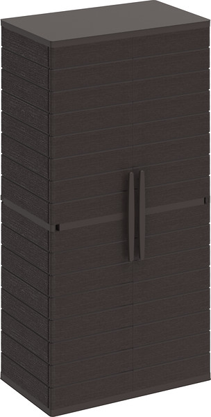 Vertical Cabinets Tall #2 Brown