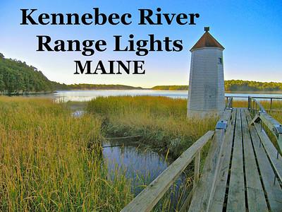Kennebec River Range Lights, Maine