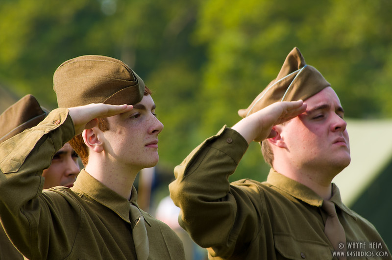 Saluting our Country   Photography by Wayne Heim