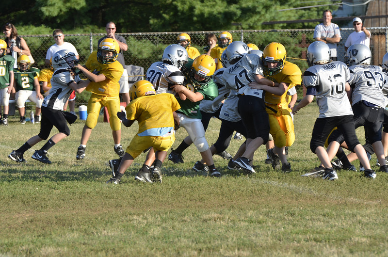 Wildcats vs Raiders Scrimmage 013.JPG