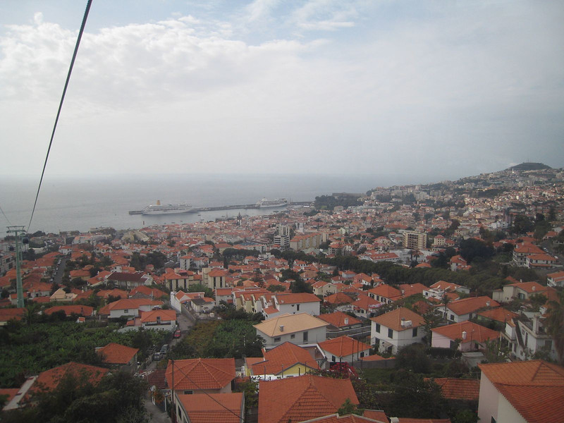 Funchal, Madeira - from the cable car