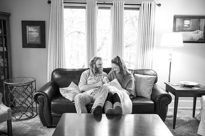 David & Stephanie newborn