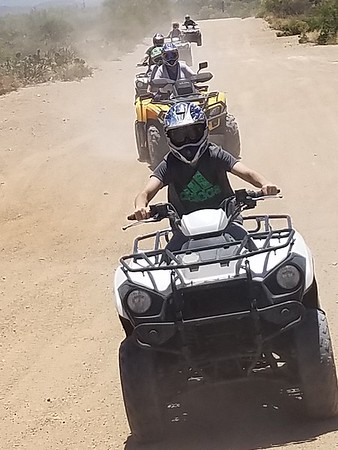 6-3-19 11:00AM ATV TOUR JOHN