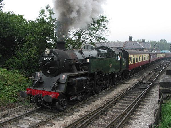 North Yorshire Moors Railway, Grosmont, 2003.