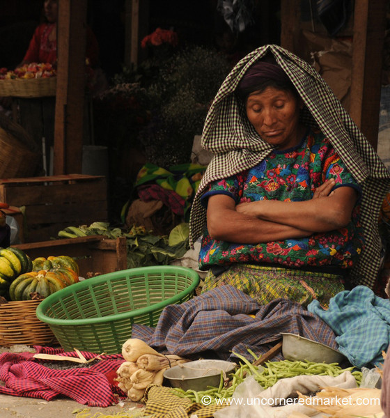 Vendor Falling Asleep - Antigua, Guatemala