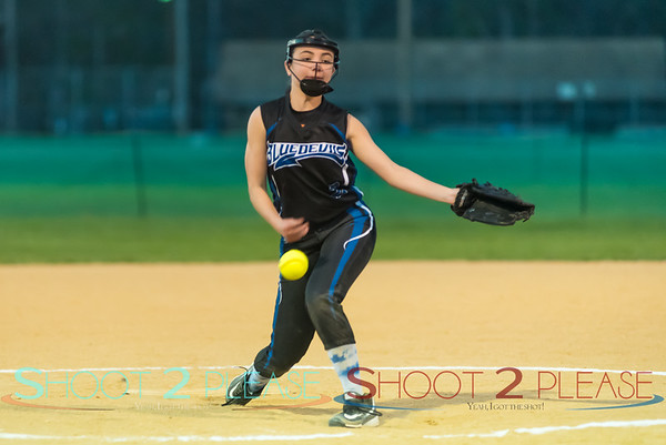 Apr 20 2016 - 14U Softball vs Butler