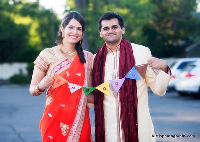 Nikhil and Divya's Engagement.