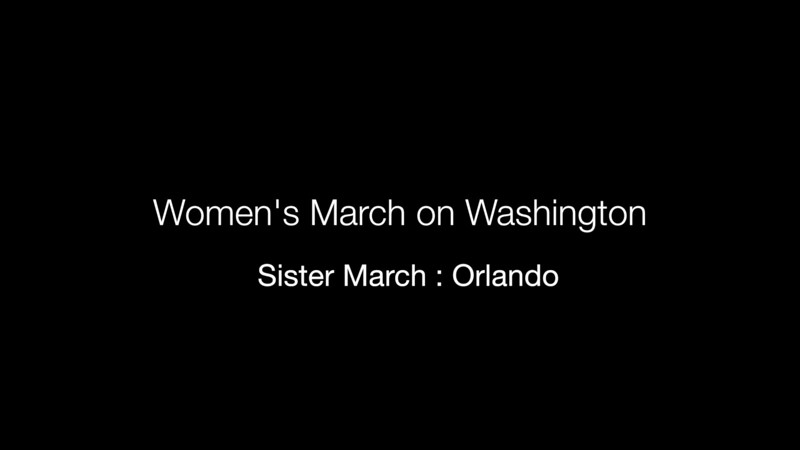 Women's March on Washington : Orlando