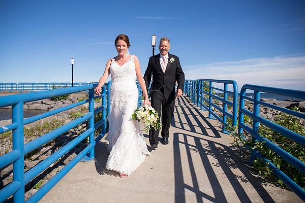 Lake Huron Wedding Teresa Sean Ossineke Alpena Photography