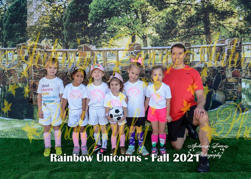 20211009 - #M4 PKG Rainbow Unicorns - Reed