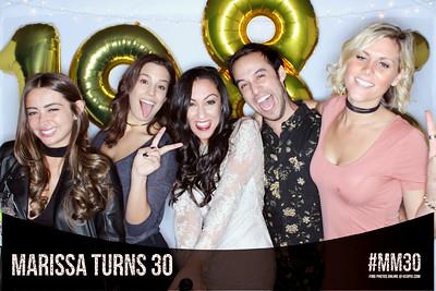 11.12.2016 - Marissa's 30th Birthday