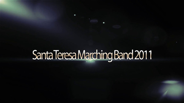 Santa Teresa Marching Band Banquet Video 2012