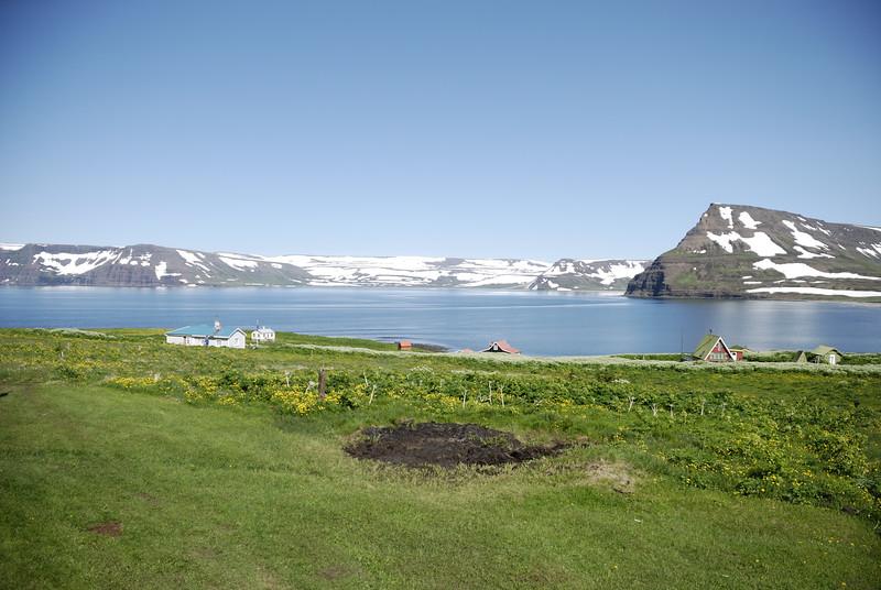 Horft yfir Aðalvík.