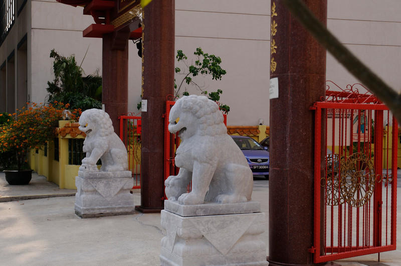 Guardians - Kwan Im Tng Temple, Balestier Road, Singapore