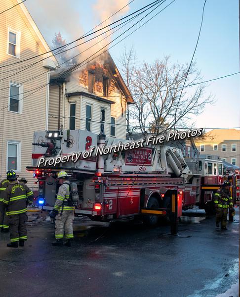 Providence-3rd Alarm- Geneva Street- 01/20/2020