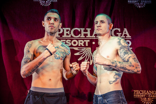 WCK MUAY THAI WEIGH-IN
