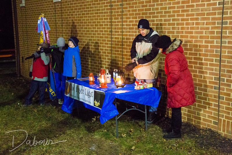 Readington Recreation Holiday Tree Lighting 2016